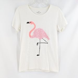 J.Crew Flamingo Collector Tee
